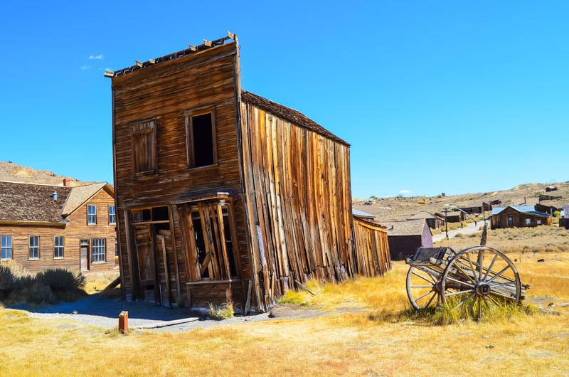 Bodie abandoned places usa, california