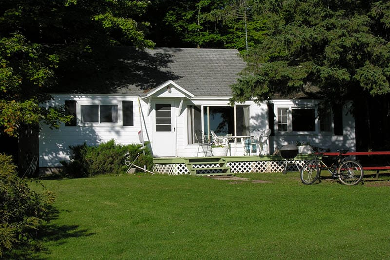 Cool things to do in Apostle Islands, WI, Front view of Bodin's Resort in Washburn, Wisconsin