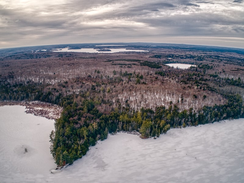 Things to do in Northern Wisconsin, Top view of Chequamegon-Nicolet is a National Forest in Northern Wisconsin