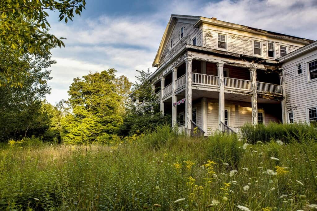 Grossinger Picture, ny, abandoned places usa