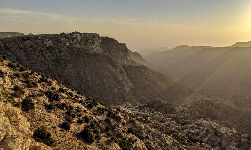 the best hiking trails in jordan, dana bio reserve