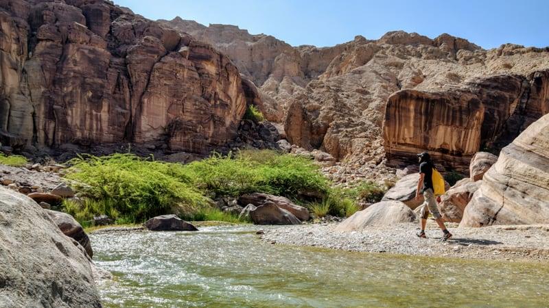 hiking near dead sea, best trekking trails in jordan
