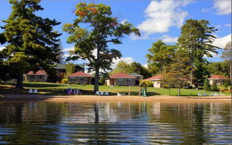 Cool things to do in Northern Wisconsin, Front view of Resort in Northern Wisconsin
