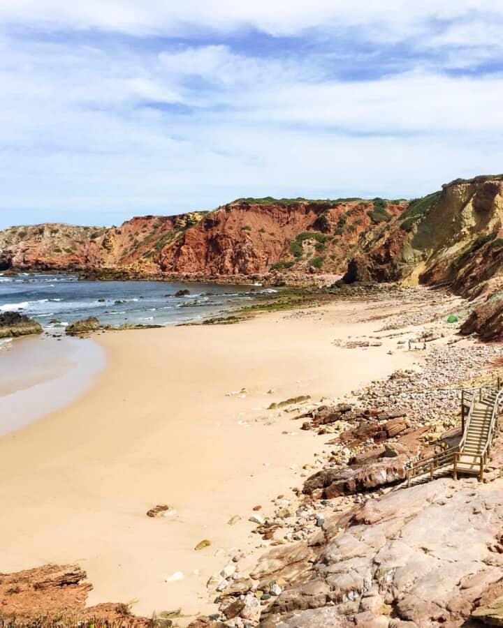 Praia do Amado 1, rota vicentina, portugal
