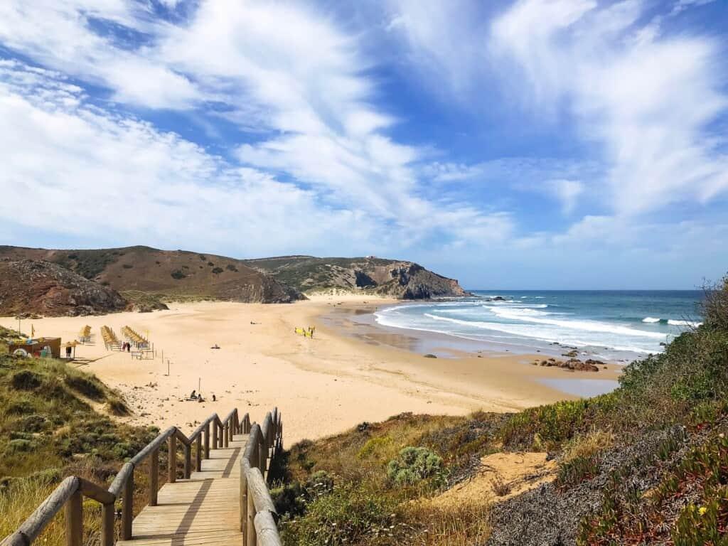 Praia do Amado rota vicentina, portugal, south west coast, beaches