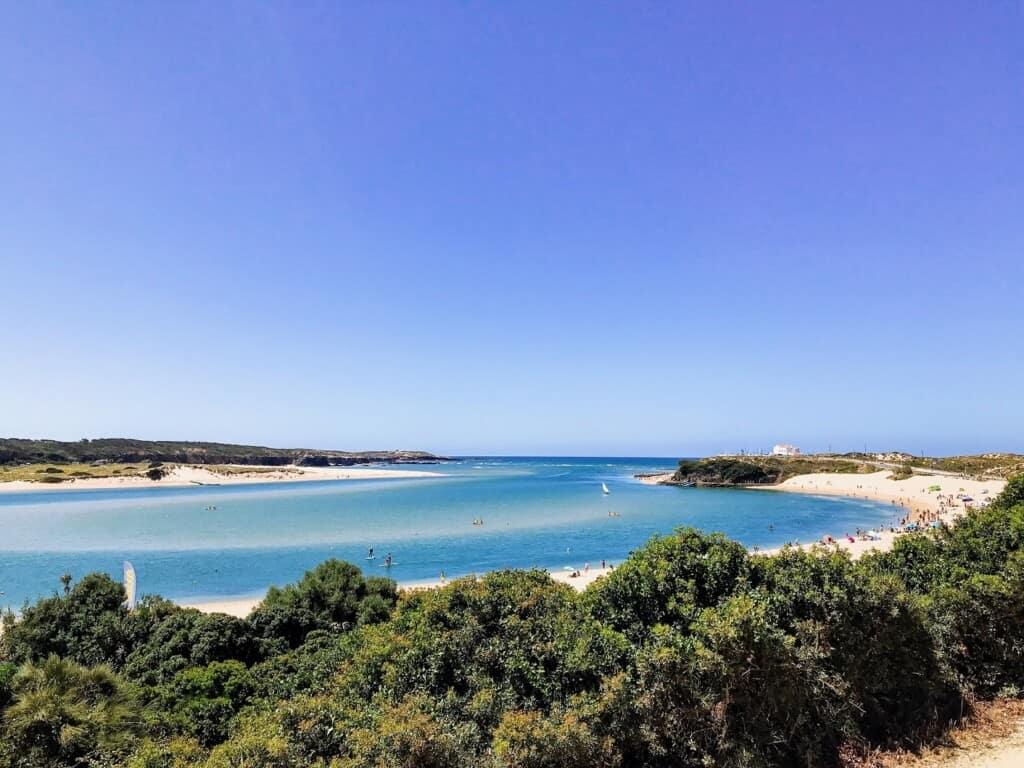Vila Nova de Milfontes, costa vicentina, south west coast portugal