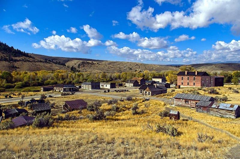 bannack-townsite, montana, abandoned places