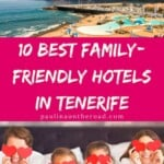 Wondering where to stay in Tenerife with kids? Find a handpicked selection with the best family hotels in Tenerife, Spain including family resorts in Tenerife with waterparks, kids entertainment and much more. Find also a map with the best areas to stay in Tenerife with kids. Tenerife is a great place for a family holiday since there are plenty of options when it comes to kids-friendly hotels in Tenerife island. #tenerife #tenerifeisland #spain #tenerifefamily #familyvacation #spainvacation