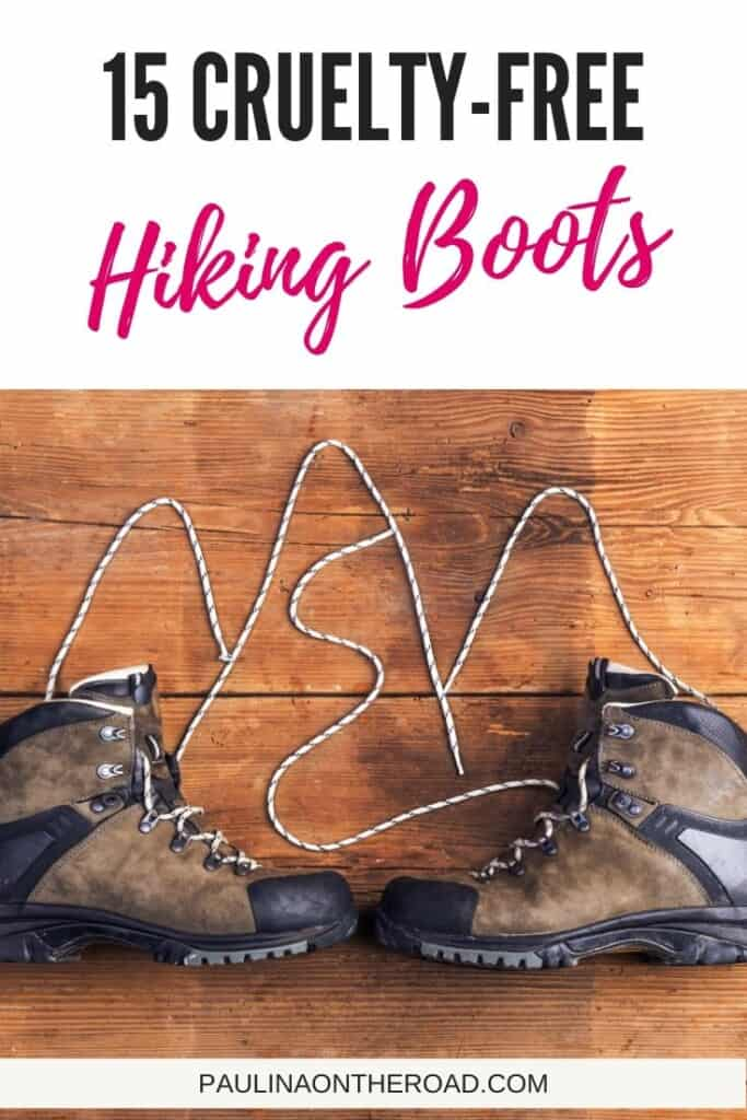Are you looking for vegan hiking boots?  #vegan #veganshoes #veganboots #hiking #hikingboots #veganhikingboots #veganhikingshoes #outdoortravel #outdoor #hikinggirls