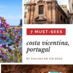 Are you wondering what to see on Costa Vicentina road trip? Explore the best beaches in South West Coast Portugal including wine villages and the hiking trail of Rota Vicentina, Portugal. The are of South West Portugal with Alentejo is home to some of the best beaches in Portugal. Only a quick drive away from Algarve, Portugal. #rotavicentina #costavicentina #portugal #costavicentinaportugal #costavicentinaroadtrip #alentejo #southwestportugal #portugalbeaches #roadtripeurope #roadtripideas