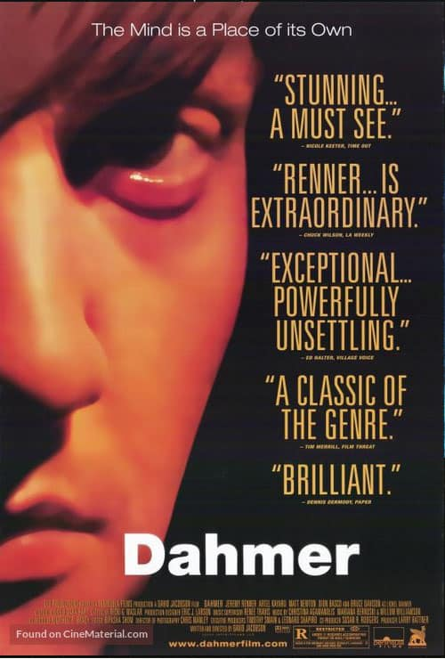 dramas set in Wisconsin, Poster of Dahmer 2002 Movie