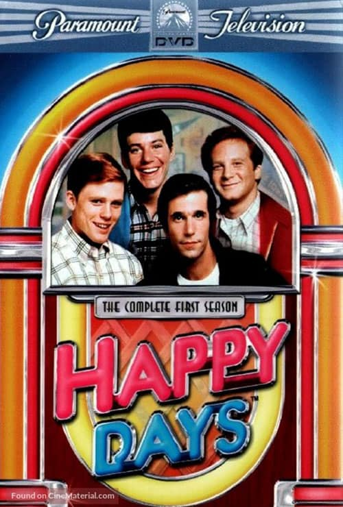 Movies filmed in Wisconsin, Poster of Happy Days Movie