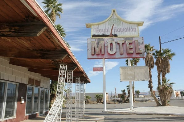 hawaiian motel1, califronia, deserted places usa