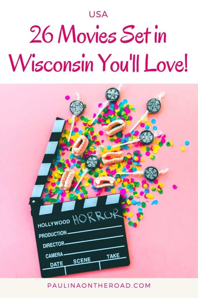 Are you looking for movies set in Wisconsin? Find a handpicked selection of movies filmed in Wisconsin, USA. Whether you love drama movies, TV shows or romantic comedies, there are plenty of films set in Wisconsin, one of the prettiest states in the US. Some are movies to watch at least once in your life. What is your favorite Wisconsin film? #wisconsin #wisconsinmovie #movies #moviessetinusa #moviessetinwisconsin #usatravel #staycation #movienight #movieinspiration  #moviestowatch #tvshows