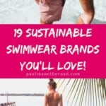 Are you looking for sustainable swimwear brands? I got you covered! Explore gorgeous eco-friendly swimwear brands for men and women. Find the perfect sustainable swimsuit or eco-friendly bikini. Also when looking for sustainable swimwear for men, you'll find plenty of options. Concerning sustainable swimwear for women, you'll love this cute selection for any budget! #sustainablefashion #sustainableswimwear #sustainableswimsuit #sustaainablebrands #ecofriendlyswimwear #sustainability #ecofriendly