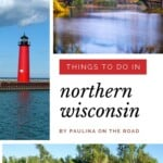Wondering about things to do in Northern Wisconsin? I got you covered! Find a complete guide on attractions in Northern Wisconsin to travel to the best places in the northern part of the Dairy State including inspiration on what to do in Northern Wisconsin during winter or on rainy days. If you love the outdoors of US, Northern Wisconsin with its lakes, mountains and hiking trails will make you fall in love. #wisconsin #northernwisconsin #usatravel #wisconsintravel #northernwisconsinthingstodo