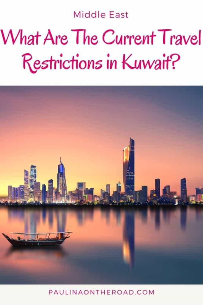 What are the current travel restrictions to Kuwait, Middle East? Find a complete guide to the latest entry policies to Kuwait, Middle East including where to get a visa for Kuwait and all you need to know before traveling to Kuwait. #kuwait #middleeast #middleeastravel #travelrestrictions
