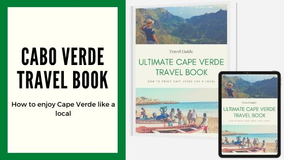 cape verde travel guide book banner