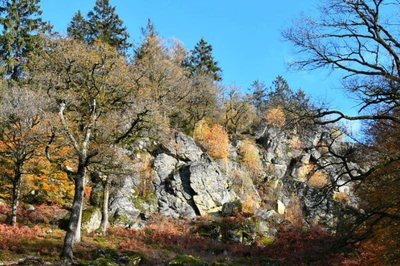 Best Hiking Trails in Wallonia, Belgium, best view of La Roche à l'Appel Geological Park