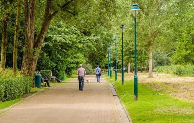 Best Difficult Level Hiking Trails near Brussels,  People walking in The Green Walk
