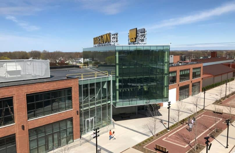 travel guide in Green Bay, Wisconsin, Titletown Tech Building in the District