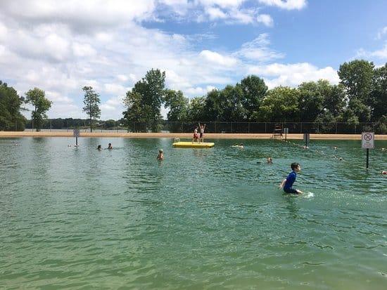 Things to do in Green Bay, Some Kids playing in Ashwaubomay Lake
