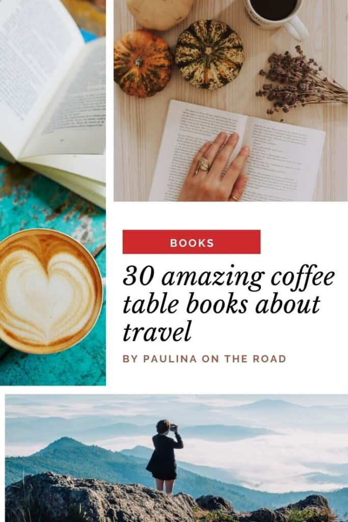 Are you looking for the best travel coffee table books? Look no further! I created for you the ultimate list with the most beautiful coffee table books related to travel. Whether you love beaches, natural parks, or are an Italy fan: this list has something for everybody. Find also a selection of cheap coffee table books and National Park coffee table books. What's your favorite of these eyecatchers? #coffeetablebooks #travel #travelcoffeetablebooks #italycoffeetablebooks #francecoffeetablebooks