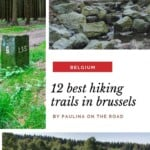 Hiking in Brussels? Oh yes! Find a selection with the best hiking trails near Brussels or scenic walks in Brussels. It's the best way to escape the bustle of the Belgian capital. Walking near Brussels is perfect to unwind and explore a less-touristy side of Bruxelles. Some of them are considered the best hiking trails in Belgium and are a great idea when looking for things to do in Brussels when visiting for the second time. #brussels #hikinginbrussels #hikingbelgium #walkingbrussels #belgium