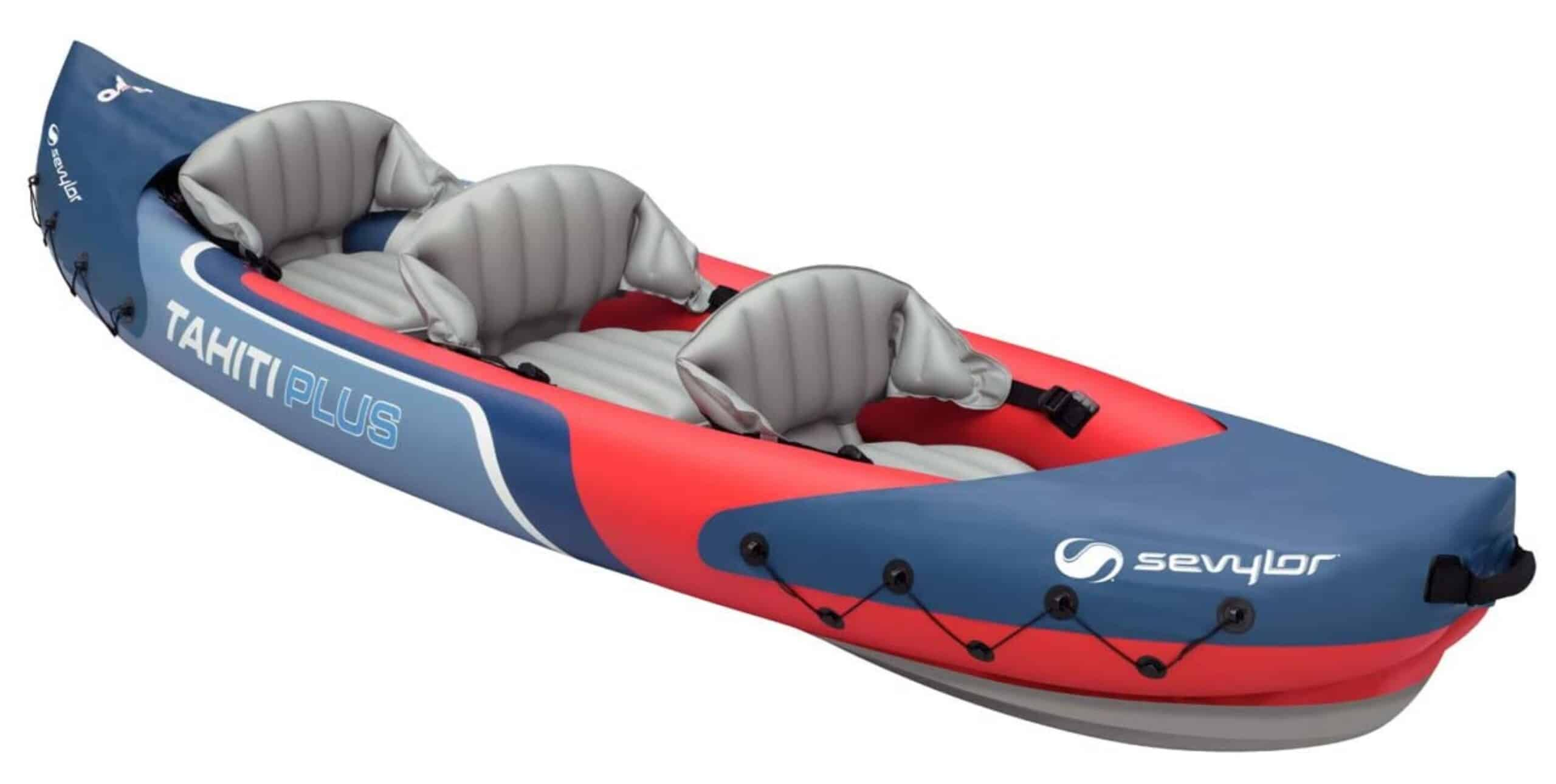 sevylor tahiti inflatable kayak 3 people