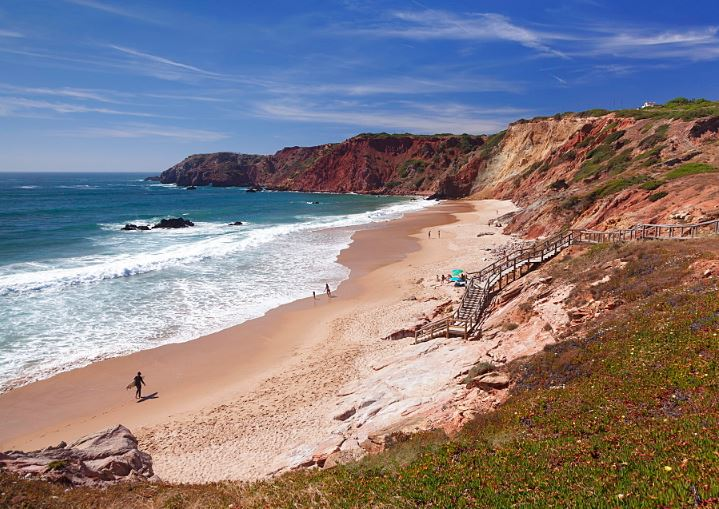 Best Beaches in Algarve, Amado Beach, Carrapateira