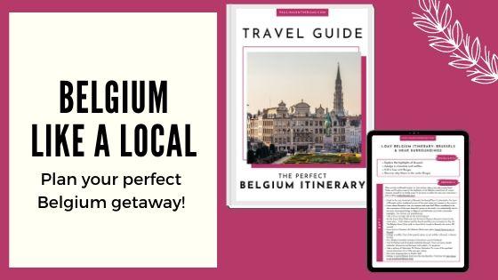 Belgium Guide Banner, belgium bucket list