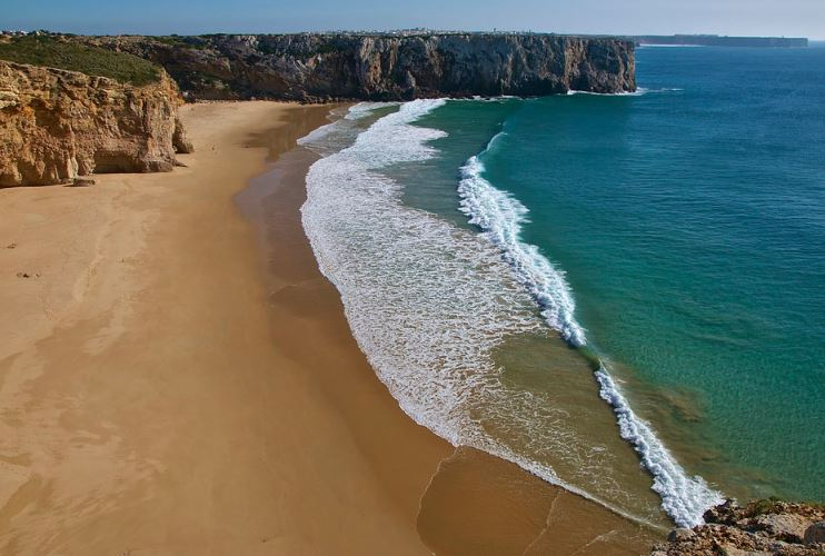 Best Beaches in Algarve for surfers, Beliche Beach, Sagres