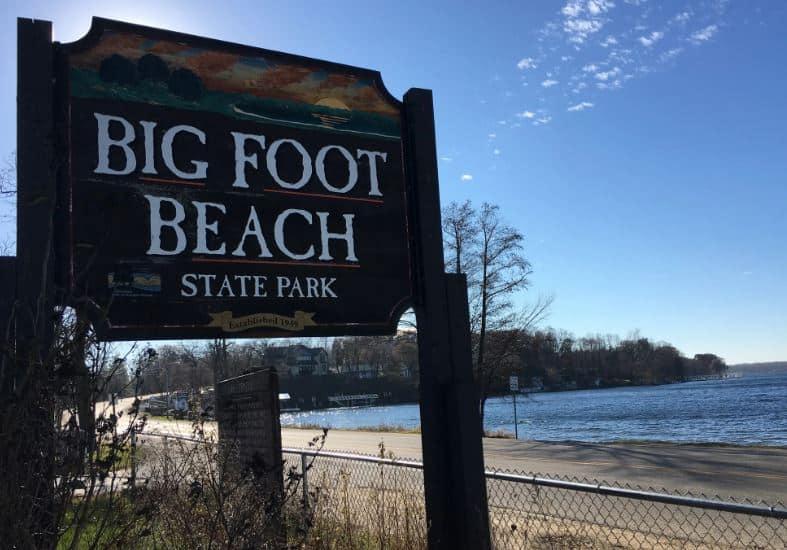 Things to do in Lake Geneva, Big Foot Beach State Park
