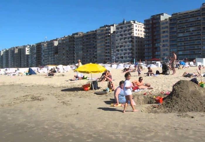 the perfect holiday destination beach resort in Belgium, Blankenberg