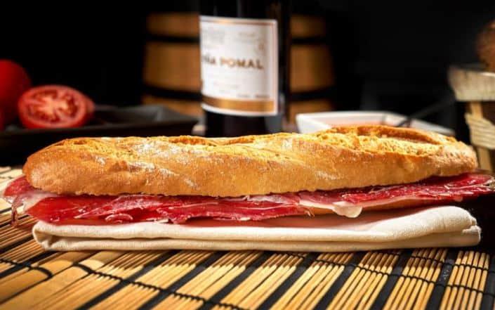 Best Spanish Snacks, Bocadillo de Jamon