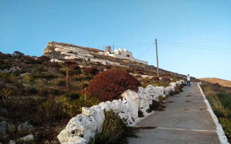 Folegandros Church of Panagia