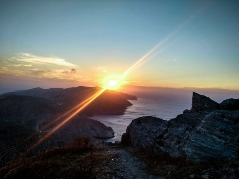 Folegandros Wine Bar Merkouri Sunset