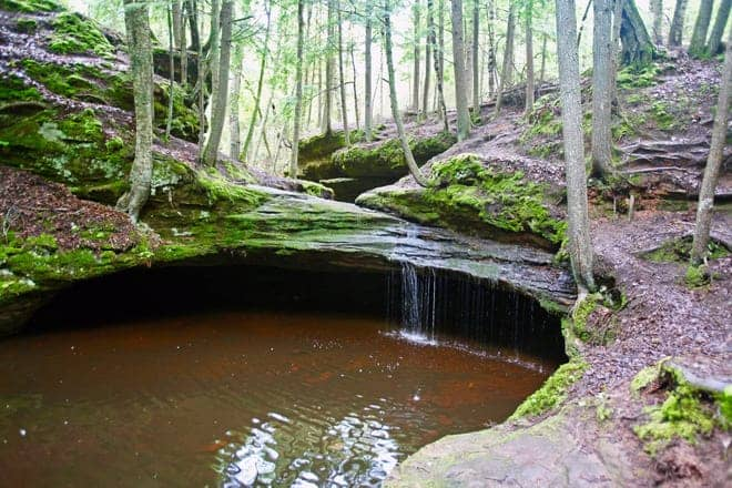 Best Waterfalls in Northern Wisconsin, Houghton Falls, Washburn