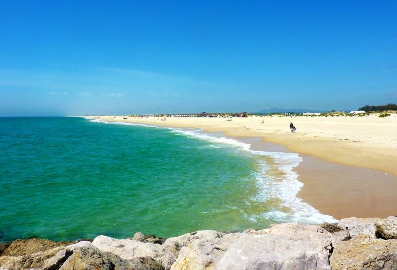 Best beach on the island, Ilha de Tavira, Tavira