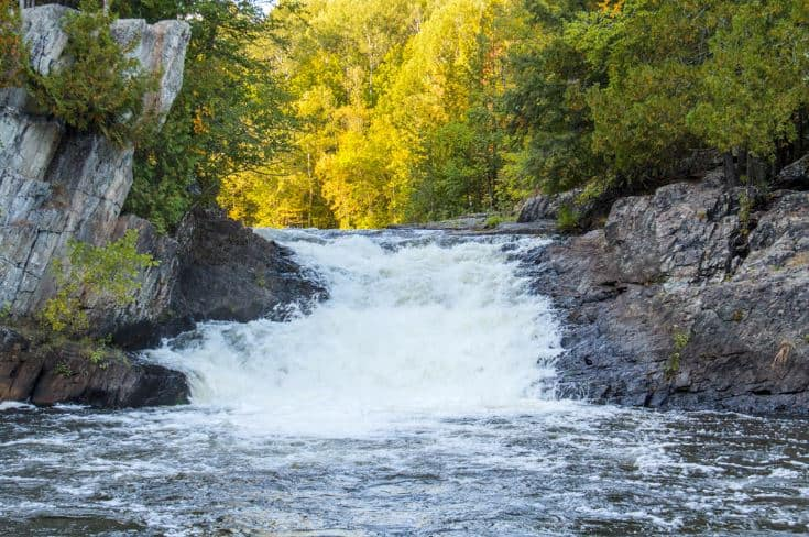 beautiful falls in Florence, Wisconsin, LaSalle Falls, Florence
