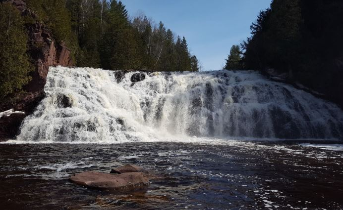 Most beautiful falls in the Midwest, Potato River Falls, Guerney