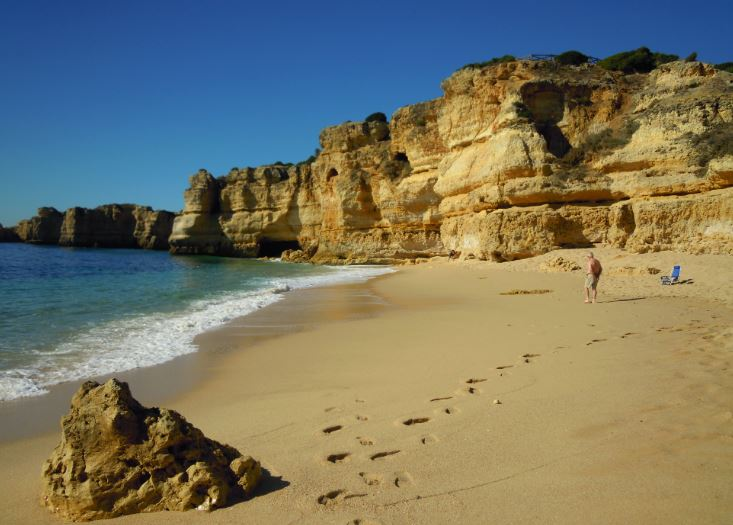 Best Beaches in Algarve for families, Praia da Coelha, Albufeira