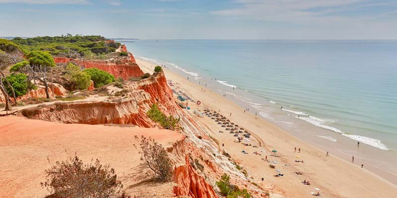 Best Beaches in Algarve, Praia da Falesia, Albufeira