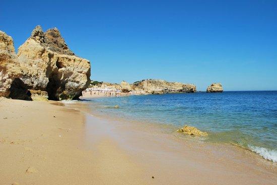 Famous beaches in Algarve, Praia de Sao Rafael, Albufeira
