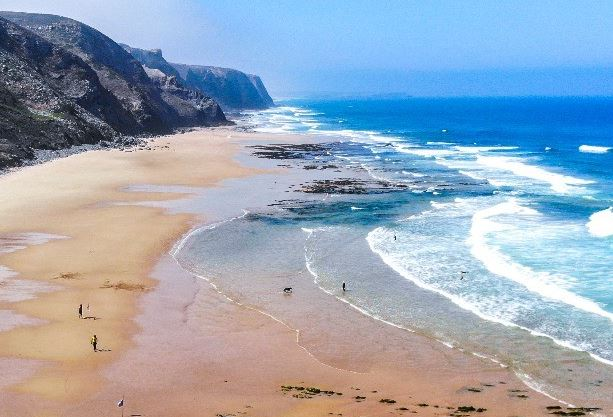 Best Beaches in Algarve for Party, Praia de Vale Figueiras, Aljezur