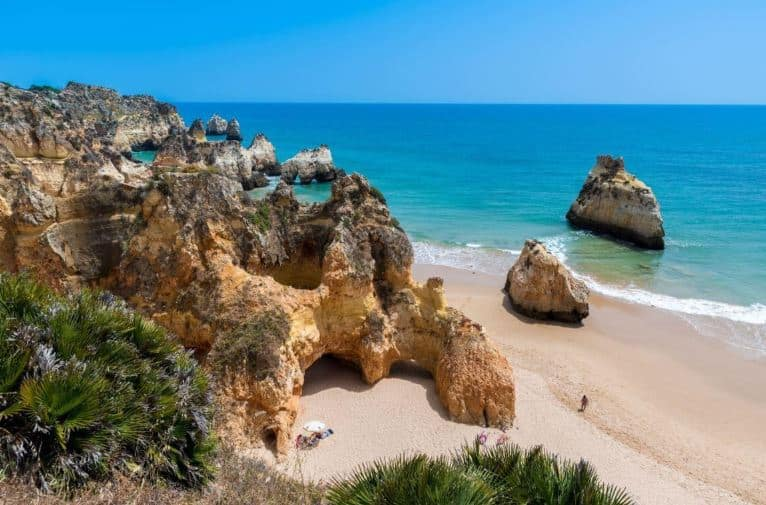 Popular Beaches in Algarve, Alvor Praia Premium Beach