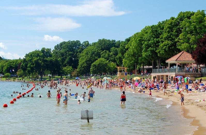 Best beaches near Lake Geneva WI, Riviera Beach In Lake Geneva
