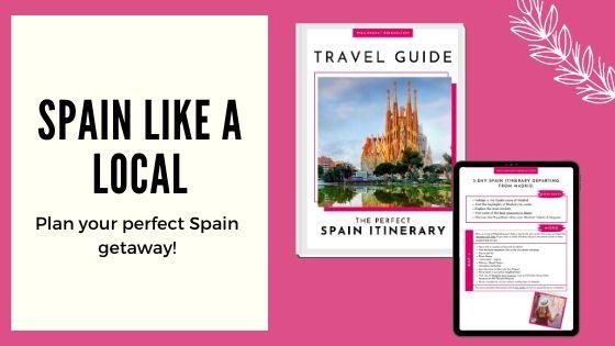 spain travel guide banner