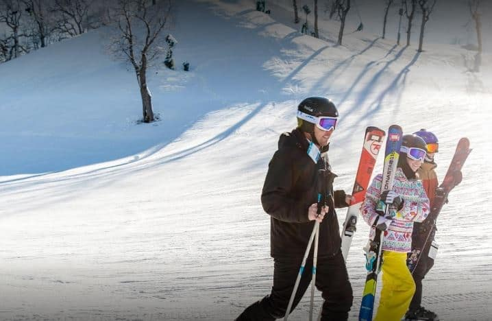 best ski resort in wisconsin dells, Some people go skiing in the ski and adventure center