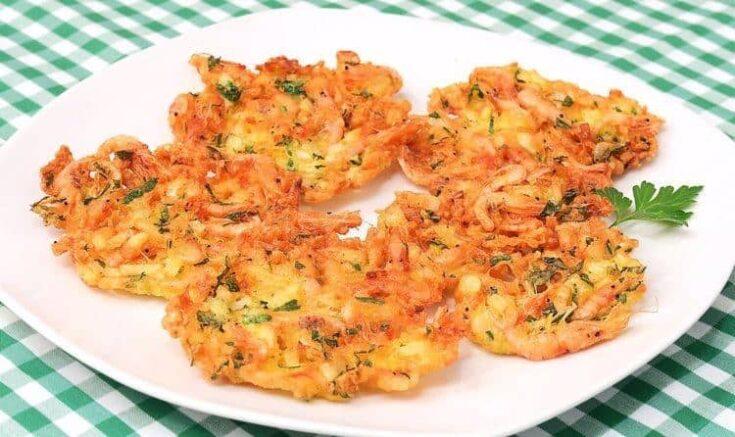 Best Spanish snacks, Tortillita de Camarones